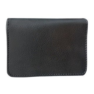 Premium Black Leatherette RFID Blocking Wallet (Case of 100)