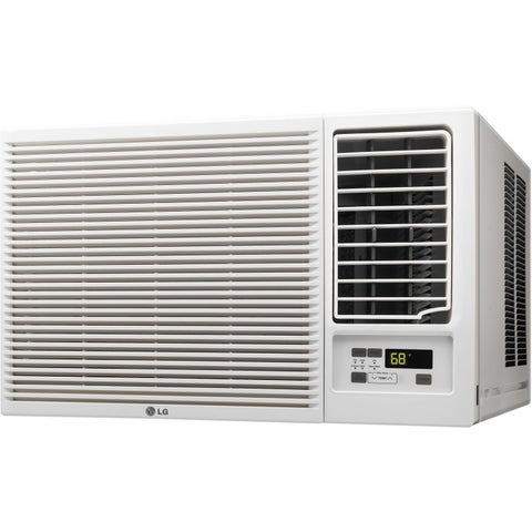 LG LW1816HR 18,000 BTU 220V Window Air Conditioner with Heat (Refurbished) - White