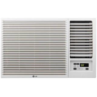 LW1216HR (Refurbished) LG 12,000 BTU 220V Window Air Conditioner with Heat - White