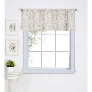 """Elrene Serene Kitchen Window Valance - 60"""" w x 15"""" l"""