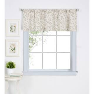Elrene Serene Kitchen Window Valance|https://ak1.ostkcdn.com/images/products/16914764/P23206774.jpg?impolicy=medium