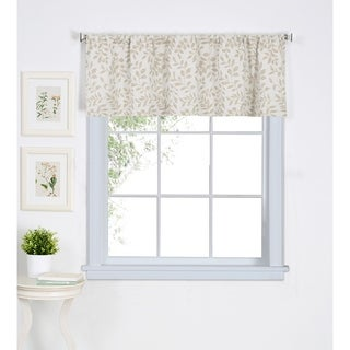 Elrene Serene Kitchen Window Valance