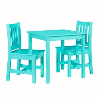 Jude Teal Kids Table and Chair Set