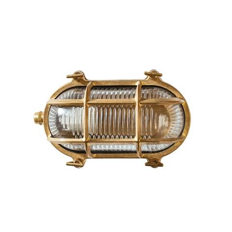 Ceduna Nautical Brass Bulkhead Light