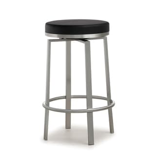 Pratt Black Steel Counter Stool - Set of 2