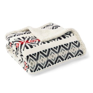 Eddie Bauer Mountain Village Ultra Plush Throw