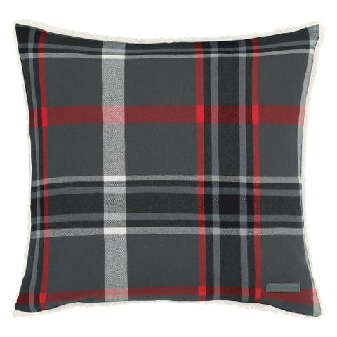 Eddie Bauer Winslow Plaid 20 Inch Decorative Throw Pillow