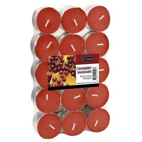 Cranberry Mandarin Tealights