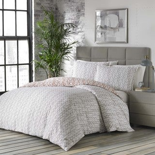 City Scene Nile Cotton Duvet Cover Set