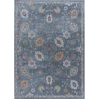 Alise Rugs Arietta Collection Transitional Floral 5'x8' Area Rug