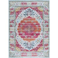 """Alise Rugs Arietta Collection Transitional Oriental Area Rug - 5'3"""" x 7'3"""""""