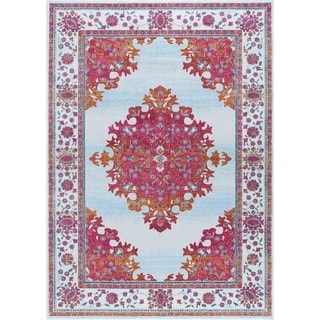 Alise Rugs Arietta Collection Transitional Oriental Area Rug (5'3 x 7'3)
