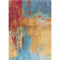 Alise Rugs Arietta Collection Contemporary Abstract 5'x8' Area Rug