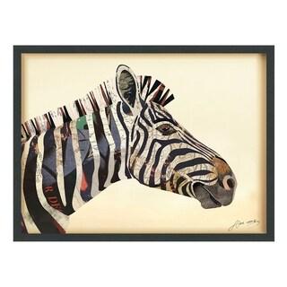 Zebra Dimensional Art Collage