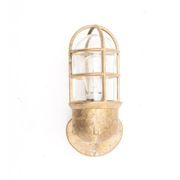 Exceptionnel Rockdale Brass Nautical Wall Sconce