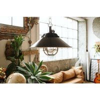 Albury Black Metal Pendant Light