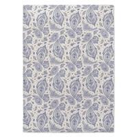 Kavka Designs Annora Dark Blue/ Ivory Area Rug ( 5'X7' ) - 5' x 7'