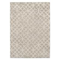 Kavka Designs Ellsha Gray Grey Area Rug ( 5'X7' ) - 5' x 7'