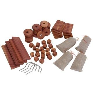 Cedar Closet Value Pack, 56 Piece Set