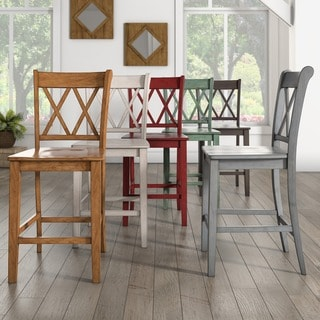 counter chair set of 2 by inspire