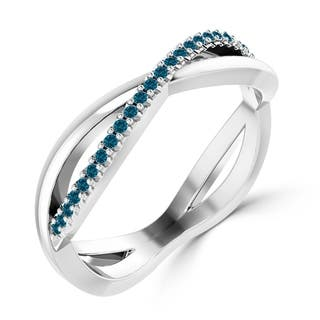 Infinity Diamond Rings For Less | Overstock.com