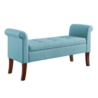 Ivy Blue Storage Bench