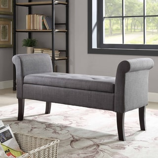 Ivy Charcoal Storage Bench
