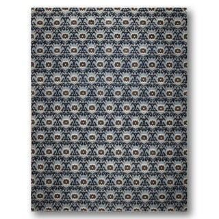 Peshawar Antique-finish Hand-knotted 200 KPSI Area Rug (9' x 12')