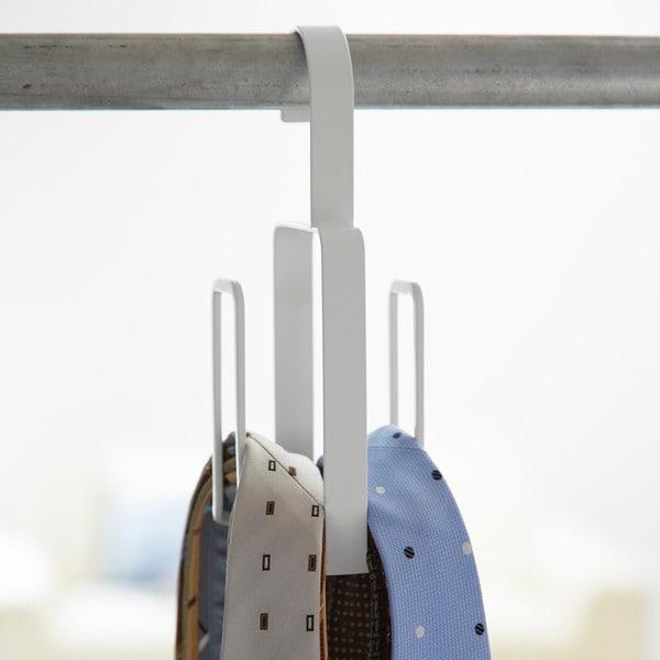 Yamazaki Smart Metal Double Necktie Hanger
