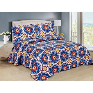 Willy 3 piece Bedspread Set
