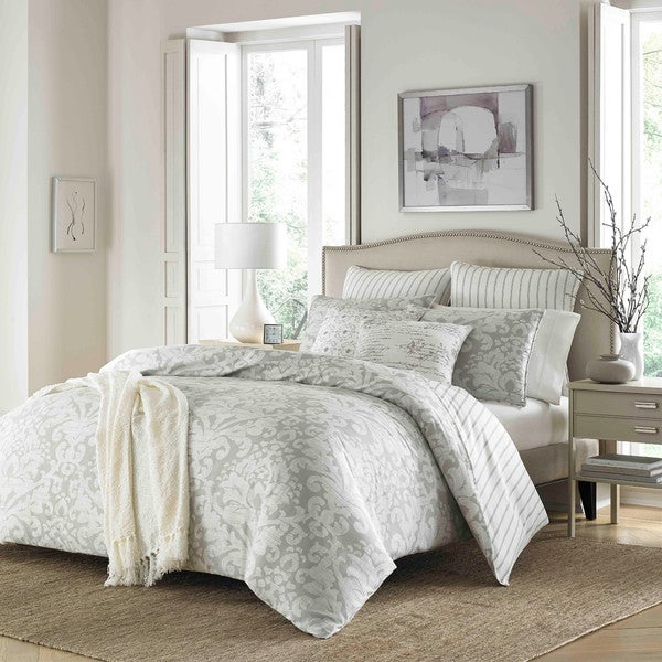 Stone Cottage Camden Cotton Grey Duvet Cover Set