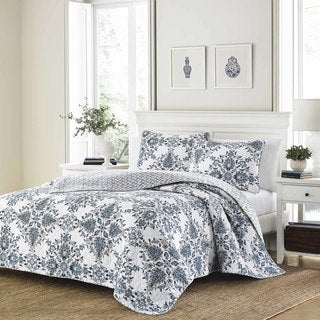 Stone Cottage Banks Cotton Quilt Set