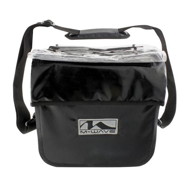 Ventura Canada Pro Black Nylon Waterproof Handlebar Bag