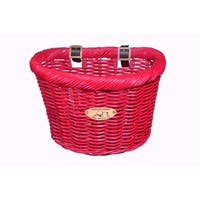 Nantucket Bicycle Basket Co. Cruiser (Child D-Shape, Peach) Basket