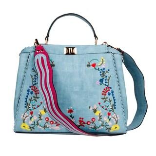 Xehar Womens Floral Print Purse Handbag