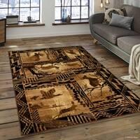 Allstar Berber Woven Soft Southwest Assorted Theme Rug