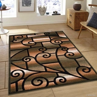 """Sage Green Modern And Chic Traditional Aubusson Rug (5' 2"""" X 7' 2"""")"""
