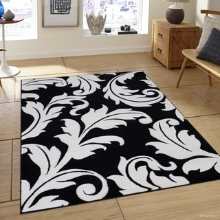 Allstar Floral Traditional Colorblock Design Rug