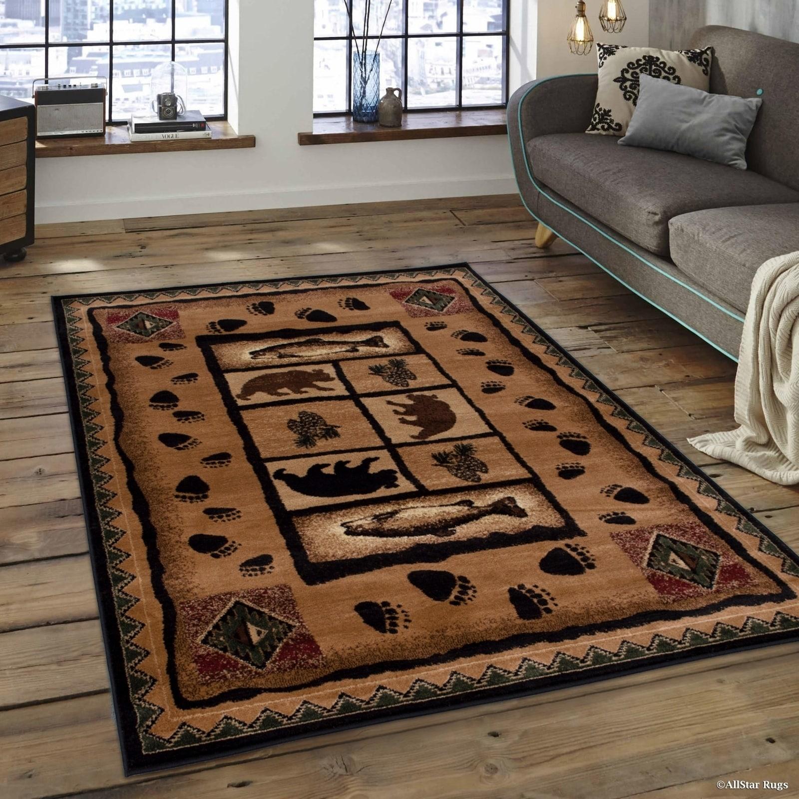 Allstar Berber Woven Soft Southwest Assorted Theme Rug (5...