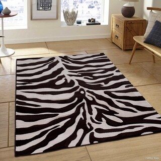 Chocolate Modern Skin Design Area Rug (5'2 x 7'2)