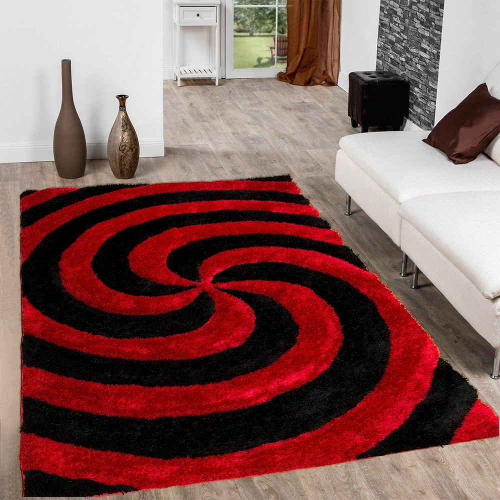 Allstar Modern 3d Swirl Design Rug On Sale Overstock 16918814