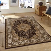 "Allstar Chocolate Vintage Traditional Oriental Persian Rug - 5' 1"" X 7' 1"""