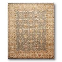 Nourisaan Beife/ Grey Wool Tibetan Area Rug (8' x 10')