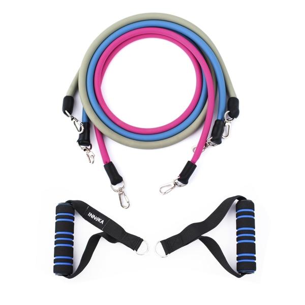 INNOKA 3 Stackable Resistance 6 to 26 lbs Tube Bands
