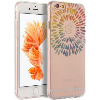 Insten Colorful Color Drop TPU Rubber Candy Skin Case Cover For Apple iPhone 6/ 6s