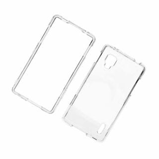 Insten Clear Hard Snap-on Case Cover For LG Optimus G LS970 Sprint