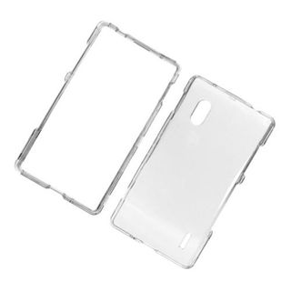 Insten Clear Hard Snap-on Case Cover For LG Optimus G E970