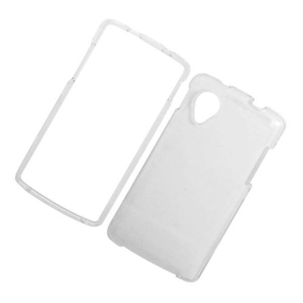 Insten Clear Hard Snap-on Case Cover For LG Google Nexus 5 D820
