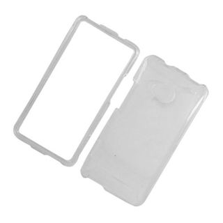 Insten Clear Hard Snap-on Case Cover For HTC One M7