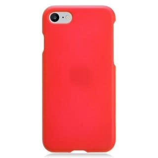 Insten Red Hard Snap-on Rubberized Matte Case Cover For Apple iPhone 7